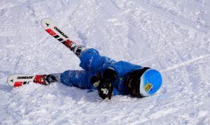 casque ski protege chute enfant