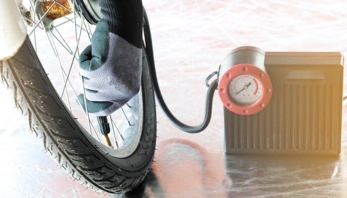 gonfleur pneu portatif