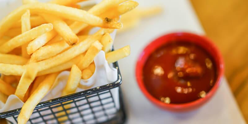 frite fait maison avec mini friteuse